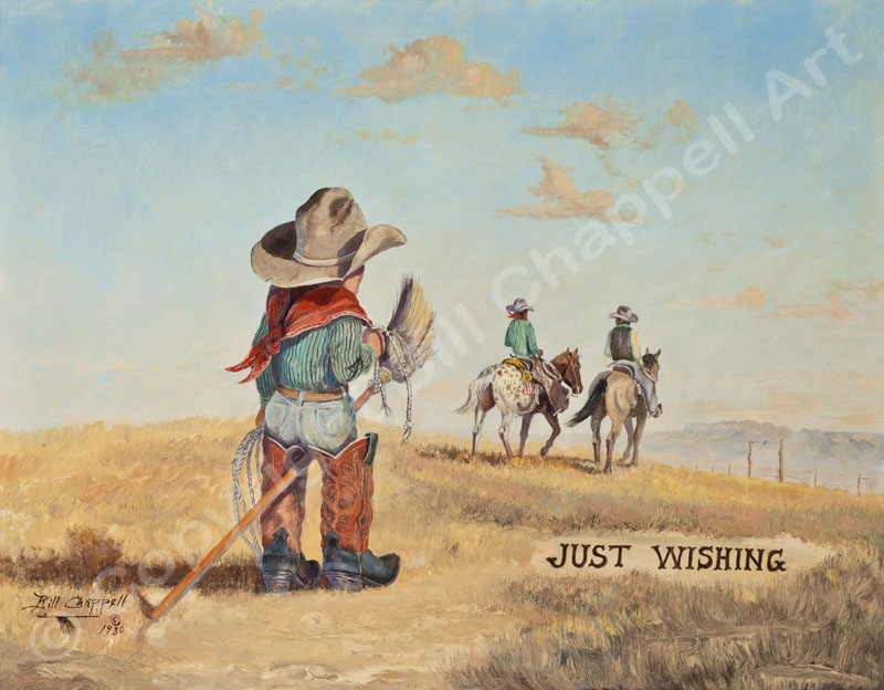Just Wishing (Giclee Print)